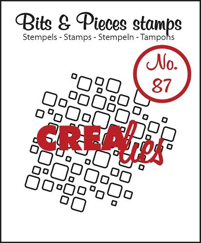 Bits & Pieces stempel/stamp no. 87 open squares