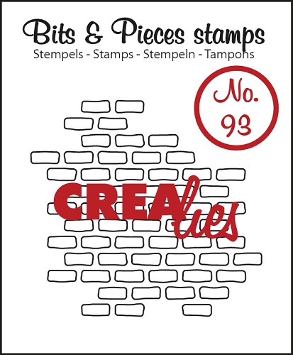 Bits & Pieces stempel no. 93 open bricks small