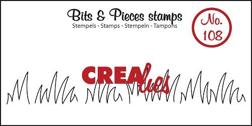 Bits & Pieces stempel no. 108 Grass edge medium