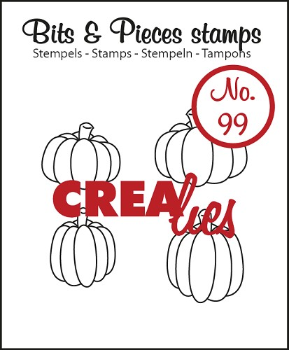 Bits & Pieces stempel no. 99 Pumpkins