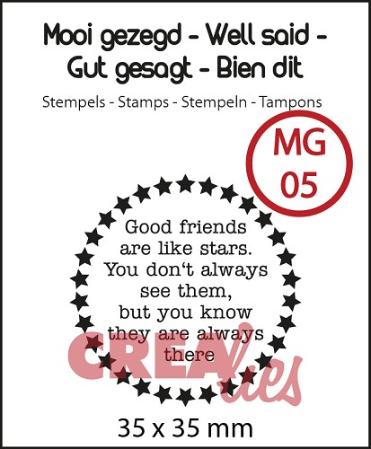 Well said, stamp no 5, `Stars`