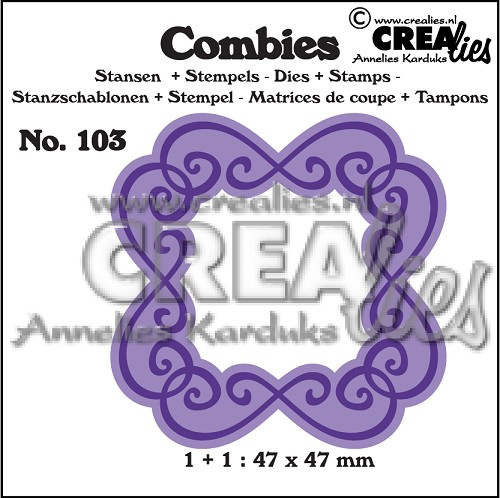 Combies dies+stamp no. 103, Frame C