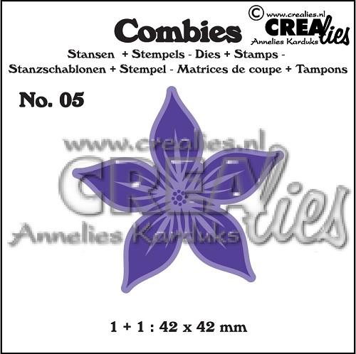 Combies stans+stempel no. 05, Bloem A groot