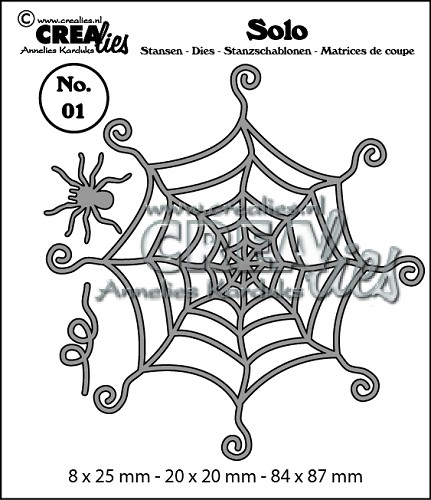 Solo dies no. 01, Spiderweb with spider