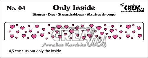 Only Inside stans/die no. 4, Hartjes / Hearts