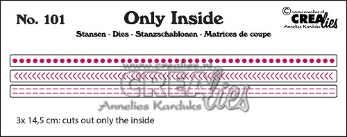 Only Inside stans/die no. 101, Inside lines A
