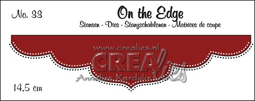 On the Edge stans no. 33 met dubbele stippenlijn