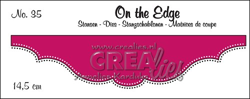 On the Edge stans no. 35, Met dubbele stippen