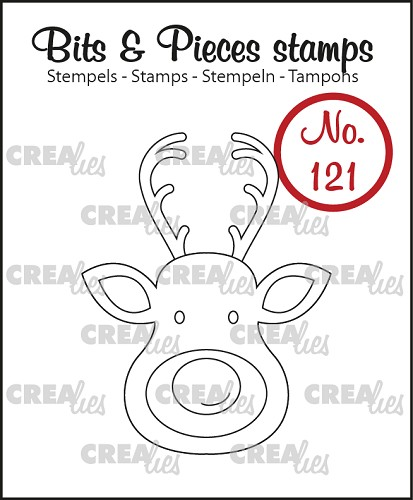 Bits & Pieces stamp no. 121 Reindeer