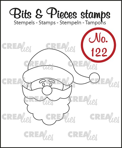 Bits & Pieces stempel no. 122 Kerstman