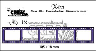 X-tra stans no. 13, Filmstrip klein