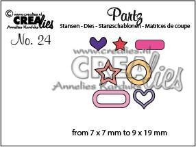 Partz stans no. 24, Versiering voor Labelzz & Tagzz 2