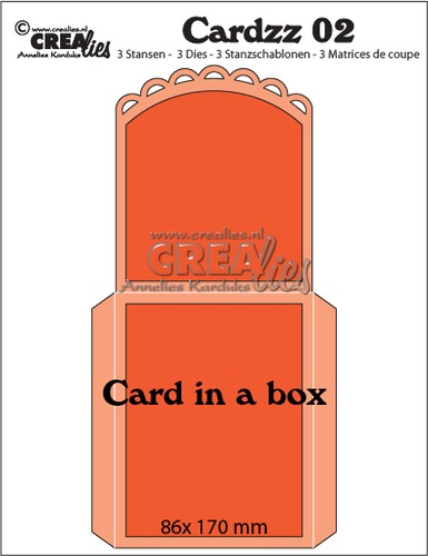 Cardzz dies no. 2, Card in a box