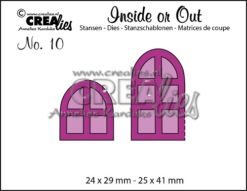 Inside or Out dies no. 10, Window and door