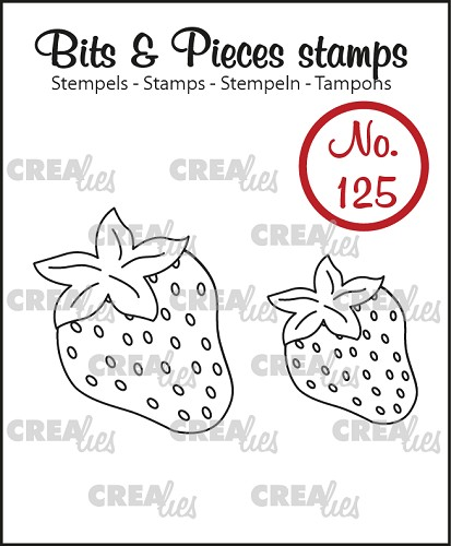 Bits & Pieces stempel no. 125, Aardbeien