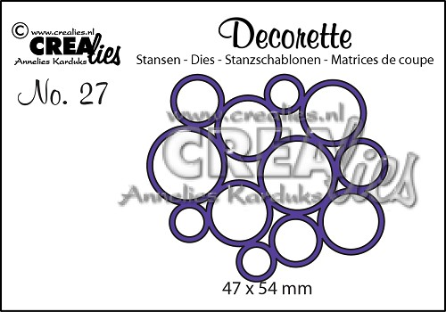 Decorette die no. 27, All circles