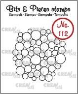 Bits & Pieces stempel no. 112, Heel veel cirkels