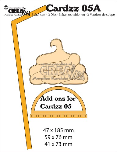 Cardzz dies no. 5A, Add ons for mug to go