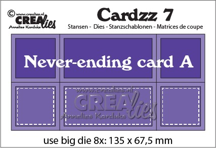 Cardzz stansen no. 7, Never-ending card