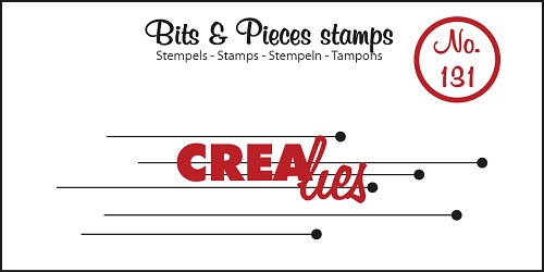 Bits & Pieces stempel no. 131, Hangende rondjes
