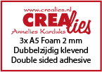 3x Foam A5 2 mm