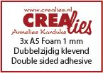 Foam 1 mm, A5 (3x)