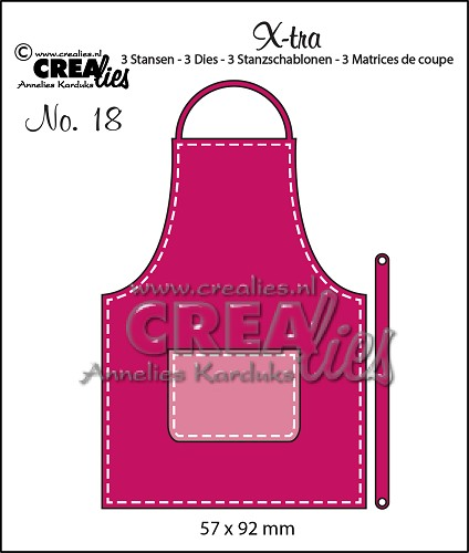 X-tra dies no. 18, Apron (small)
