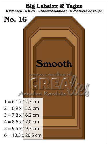 Big Labelzz & Tagzz dies no. 16, Smooth
