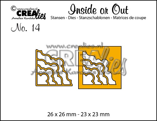 Inside or Out dies no. 14, Corners H