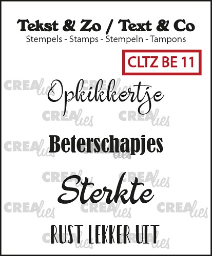 Text & Co stamps, Beterschap 11