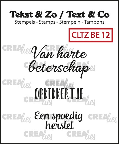Text & Co stamps, Beterschap 12