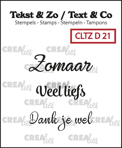 Text & Co stamps, Divers 21