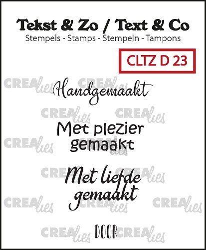 Text & Co stamps, Divers 23