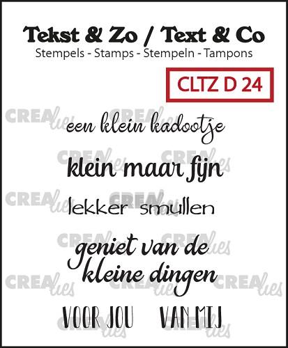 Tekst & Zo stempels, Divers 24