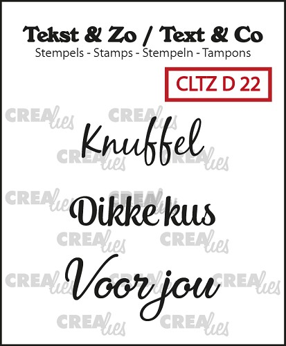 Text & Co stamps, Divers 22