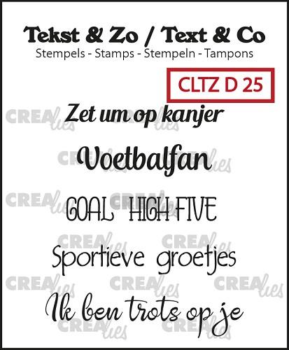 Tekst & Zo stempels, Divers 25
