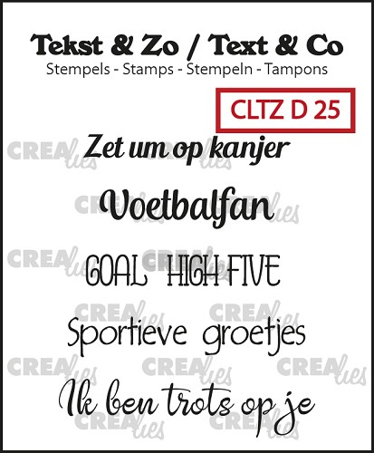 Text & Co stamps, Divers 25