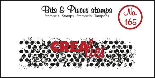 Bits & Pieces stempel no. 165, Onregelmatige grunge cirkels (langwerpig)