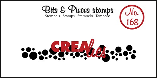 Bits & Pieces stamp no. 168, Circles (strip)