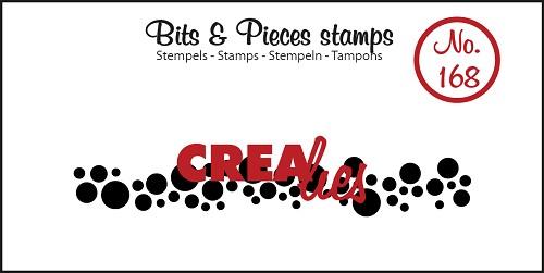 Bits & Pieces stempel no. 168, Cirkels (langwerpig)