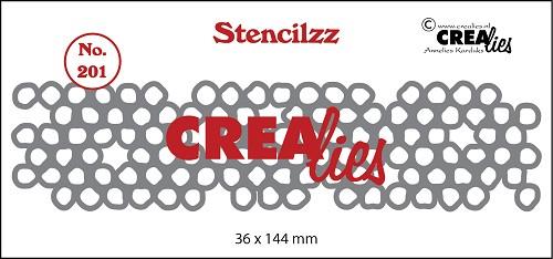 Stencilzz no. 201, Wonky circles