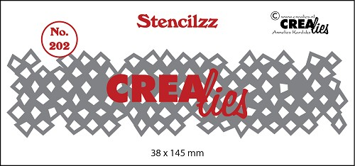 Stencilzz no. 202, Wonky squares