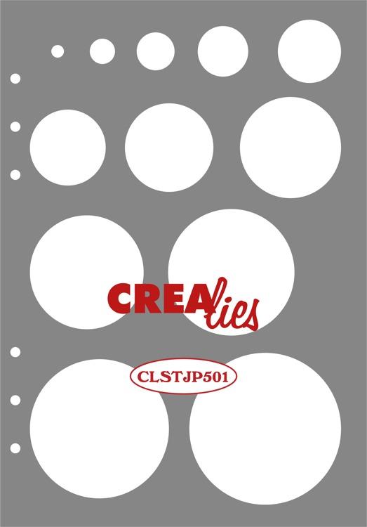 Stencil: Decoratie Cirkels