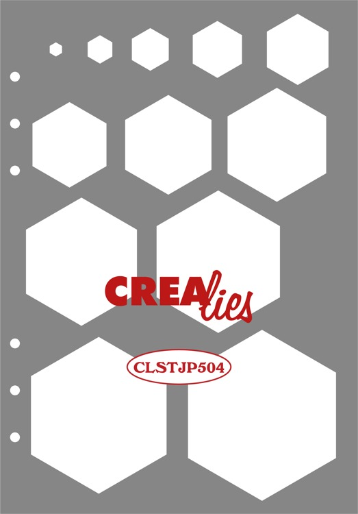 Stencil: Decoration Hexagons