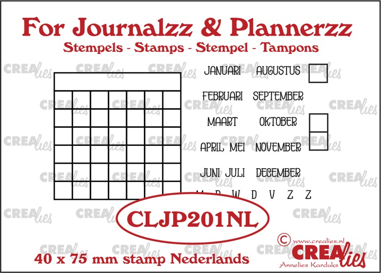 Stamps: Monthly Tracker NL