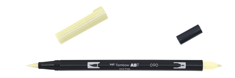 Tombow ABT Dual Brush Pen, Baby Yellow