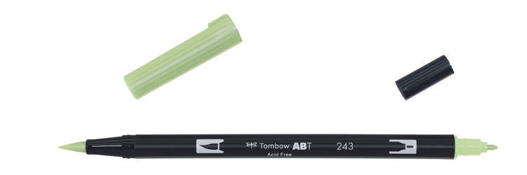 Tombow ABT Dual Brush Pen, Mint