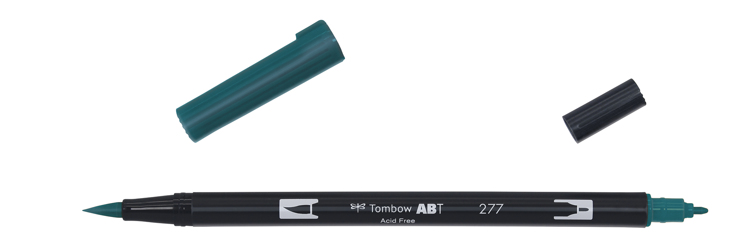 Tombow ABT Dual Brush Pen, Dark Green