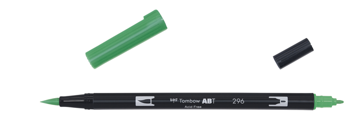 Tombow ABT Dual Brush Pen, Green