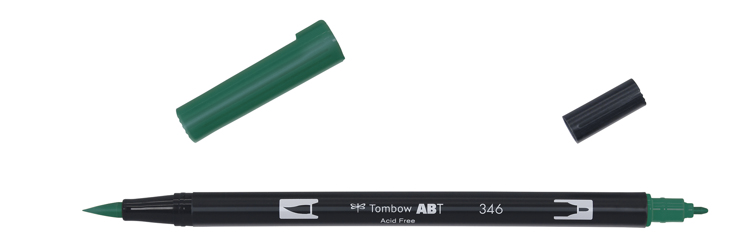 Tombow ABT Dual Brush Pen, Sea Green